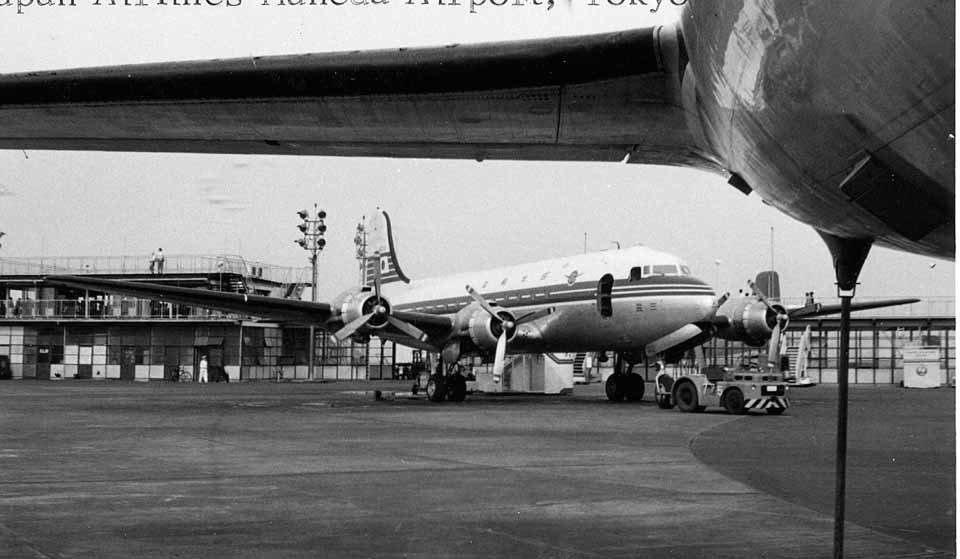 空港 トレド 年 羽田 1954